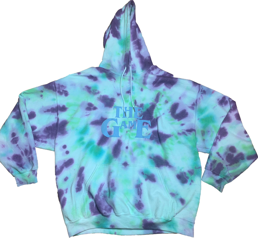 THE GAME IS THE GAME TIE DYE HOODED SWEAT (BGP)