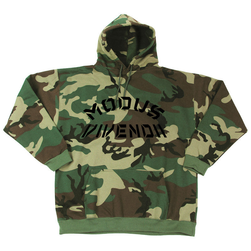 Woodland obscure hooded sweat