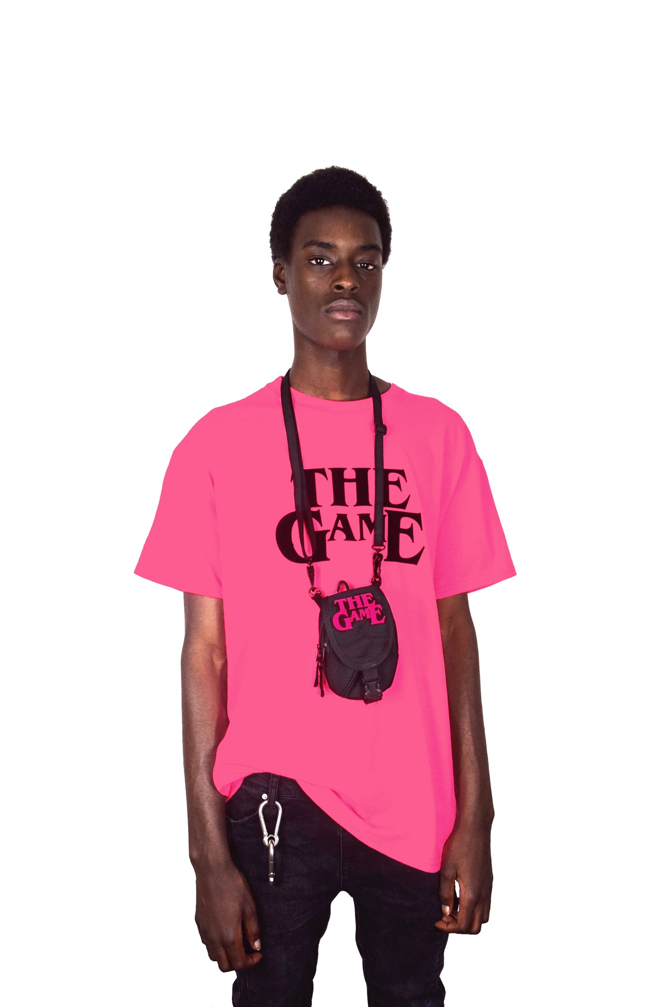 THE GAME IS THE GAME T-SHIRT (PINK)