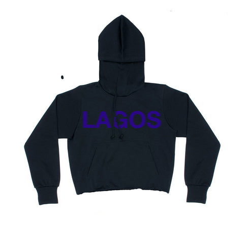LAGOS LOGO SWEAT PURPLE