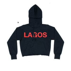 LAGOS LOGO SWEAT RED