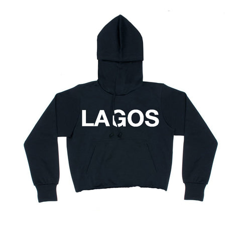 LAGOS LOGO SWEAT WHITE