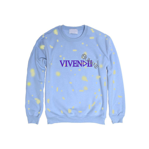 HUMANE VIVENDII LIGHT BLUE SWEATER