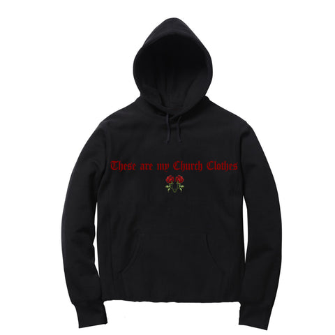 NOTHING VIVENDII HOODED SWEAT RED