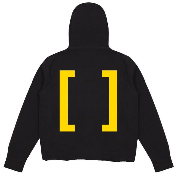 NOTHING VIVENDII HOODED SWEAT YELLOW