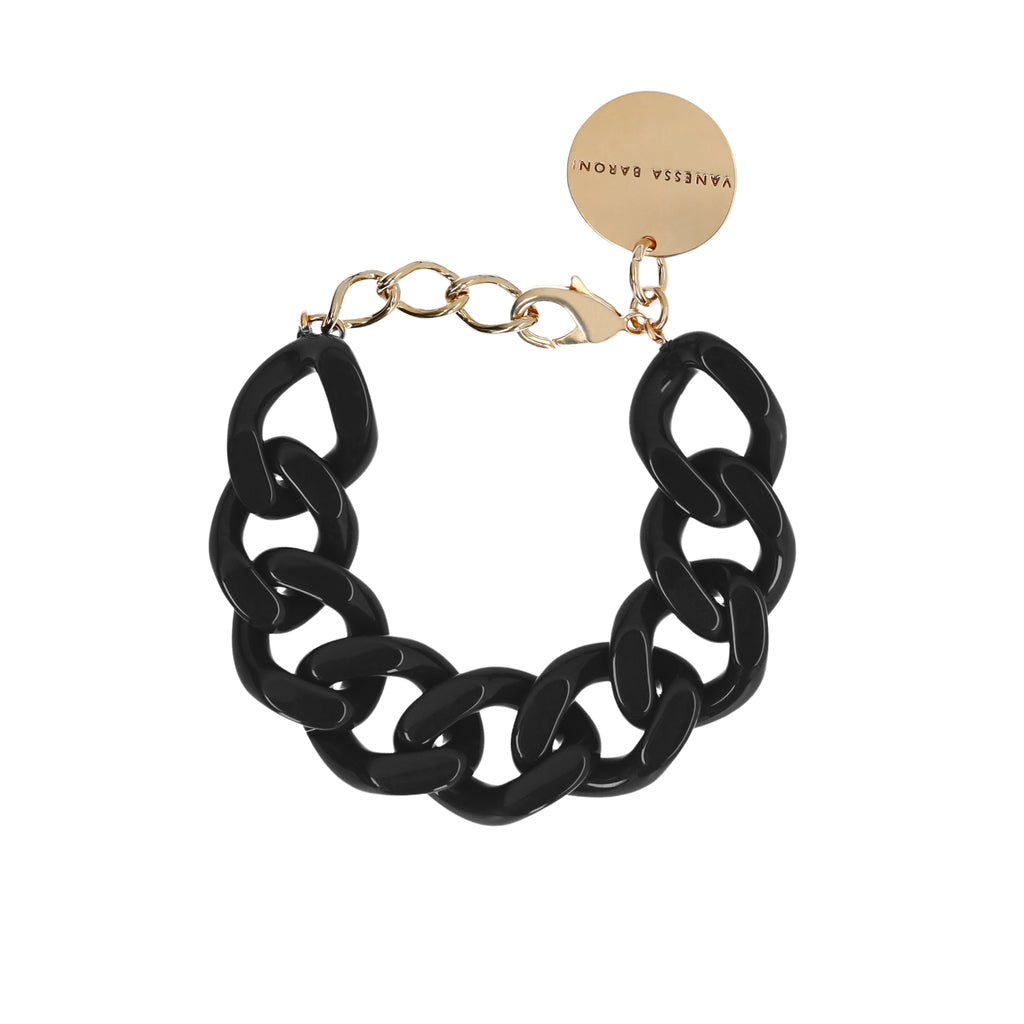 Flat Chain Bracelet chocolate
