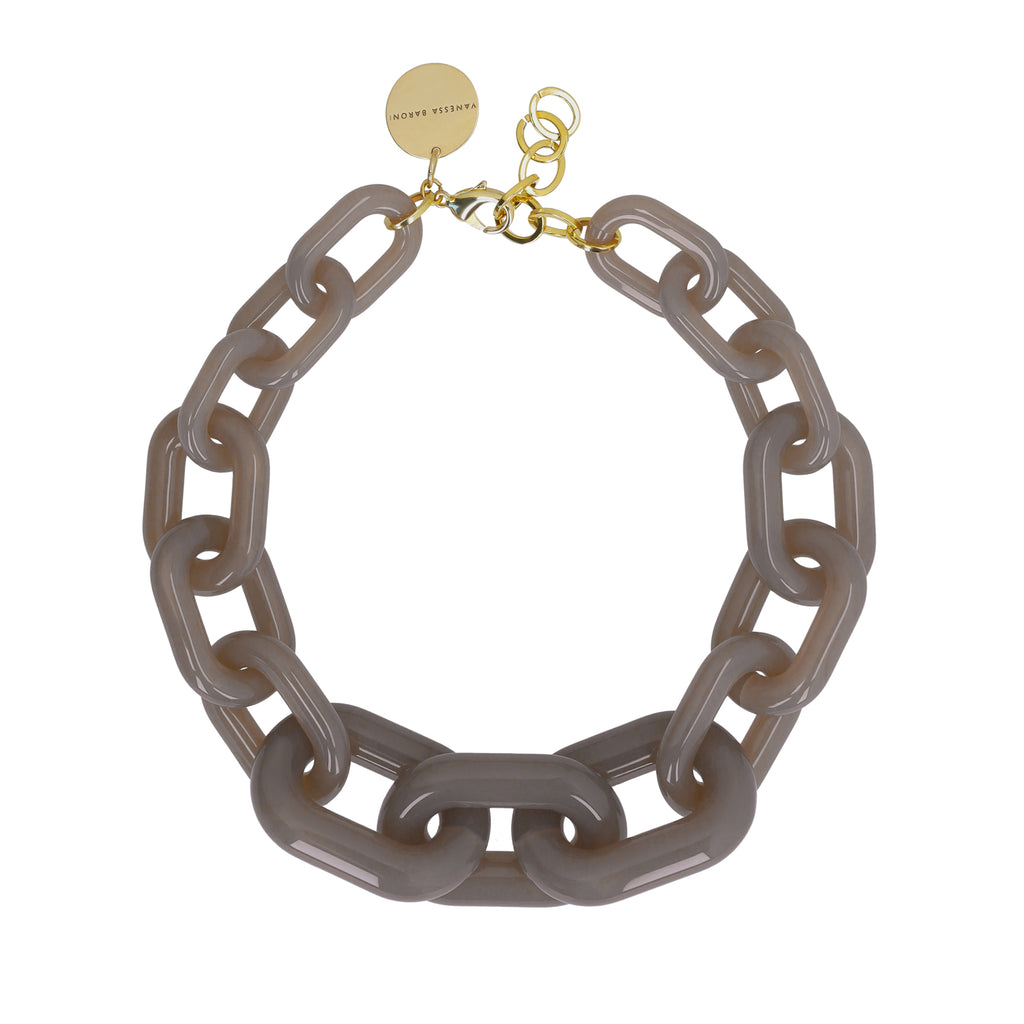 Big Chain Necklace taupe