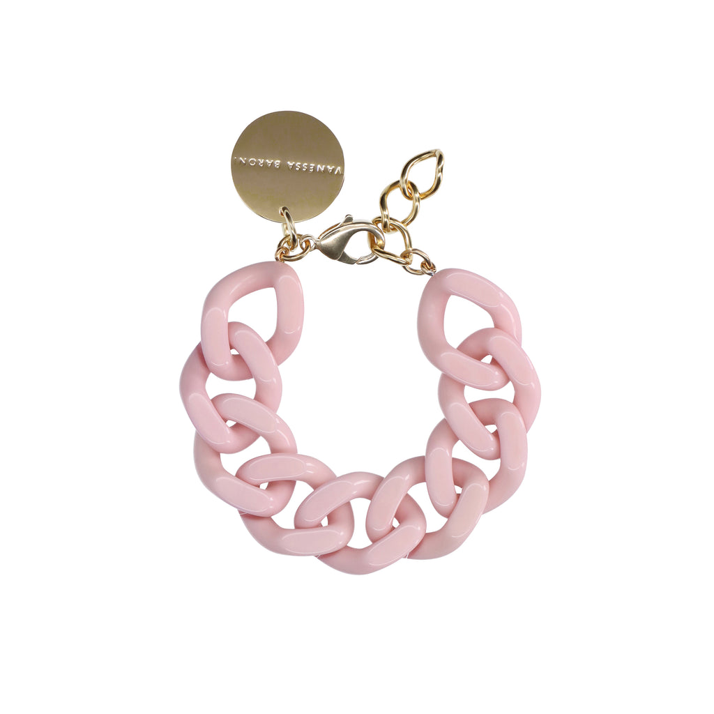 Flat Chain Bracelet bubble gum