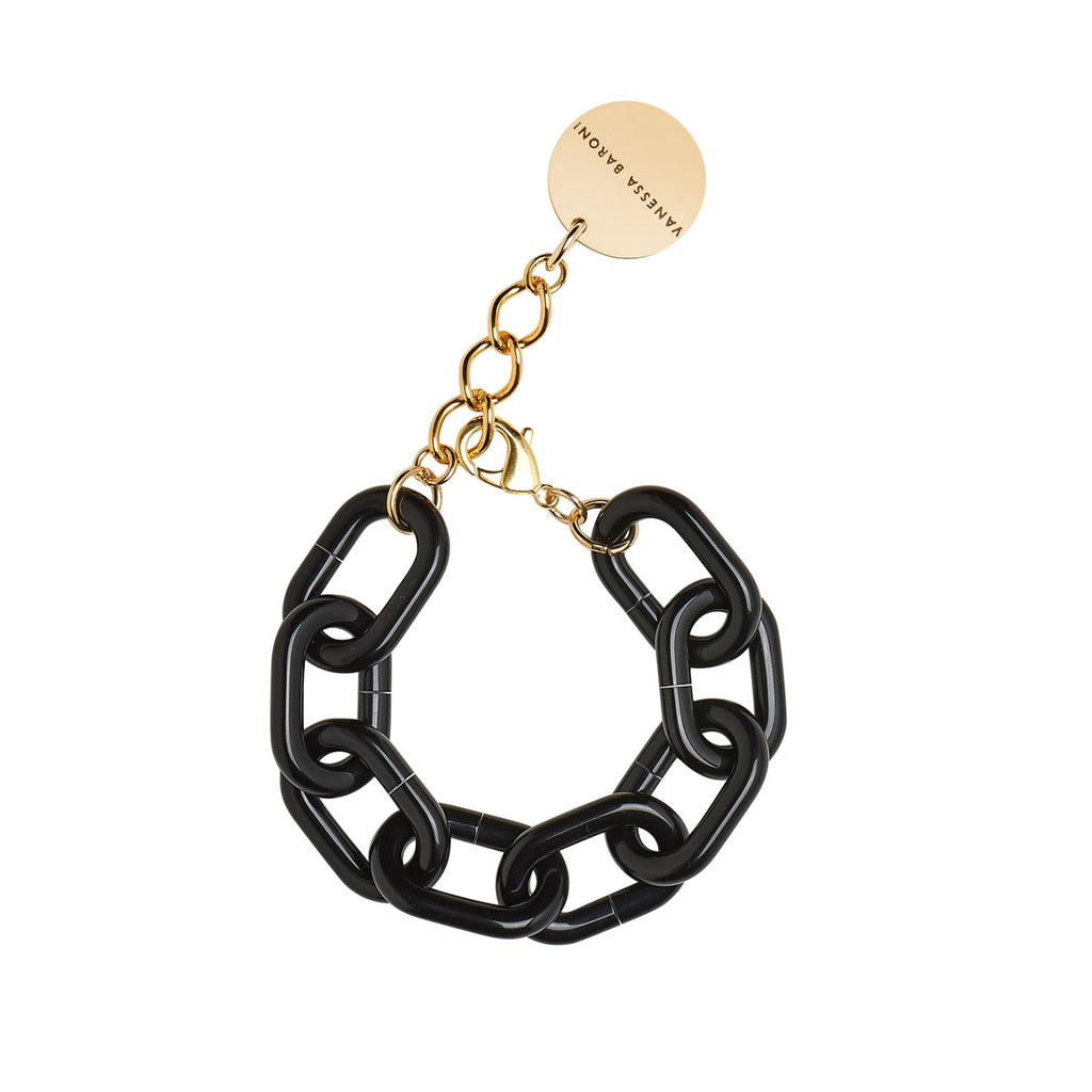 Easy Piece Bracelet black solid