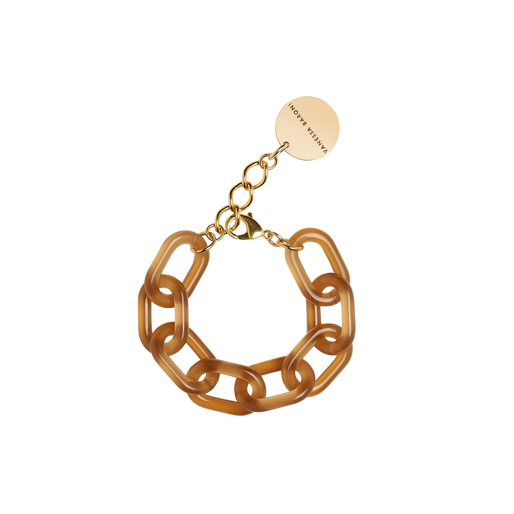 Easy Piece Bracelet brown opalin