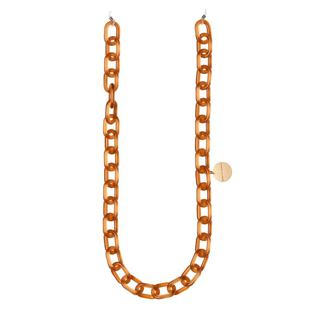 Easy Piece Eyeglass Chain brown opaline