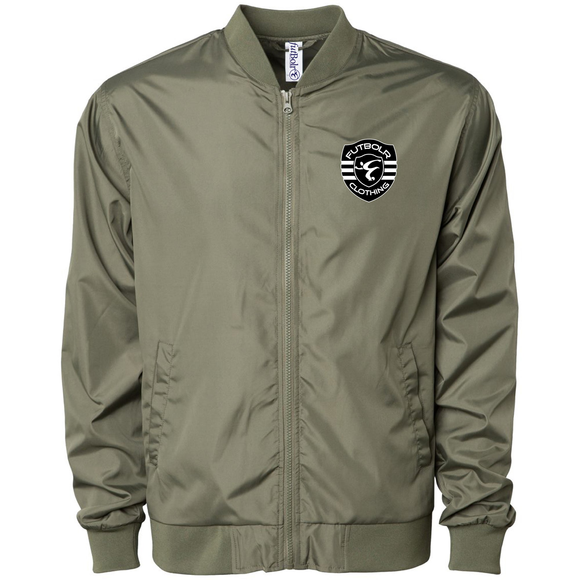 Futbolr End Racism Light Bomber Jackets