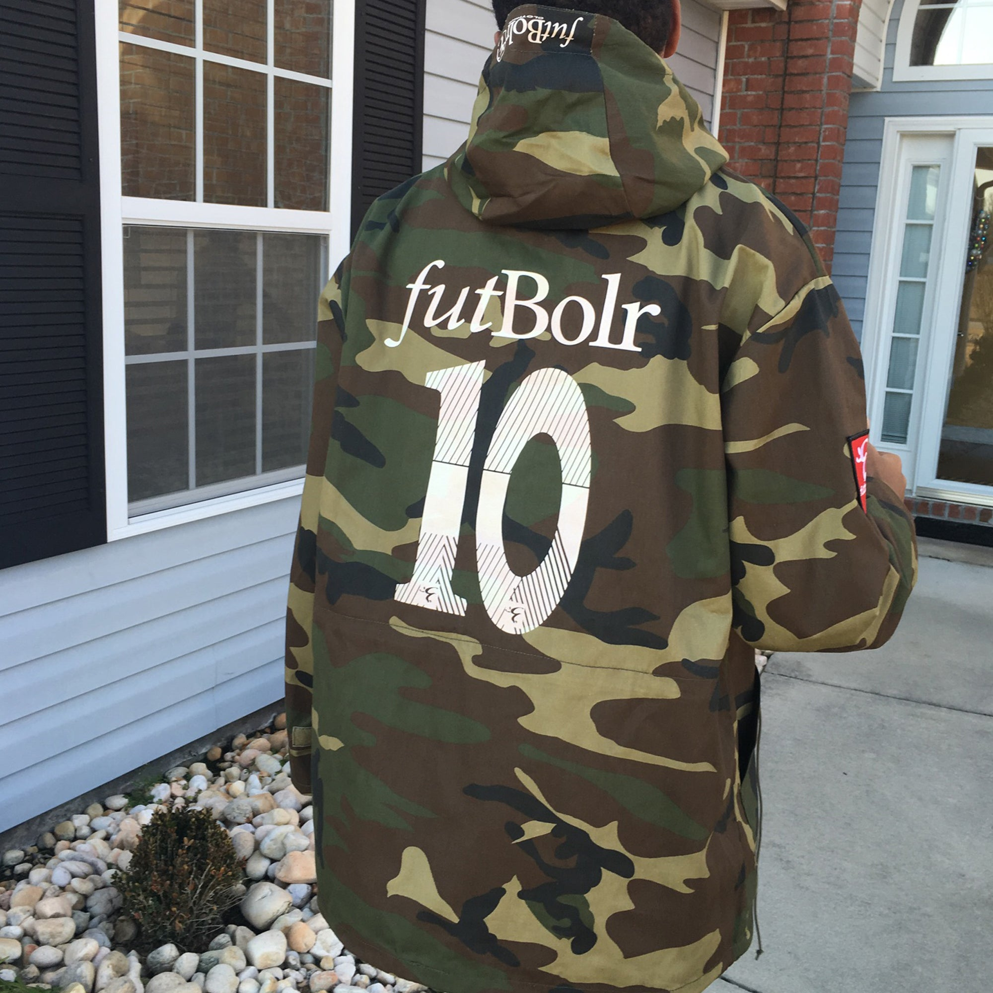 "Camo ""Dutty Cup"" Jacket"