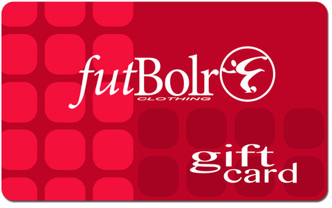 Futbolr Clothing Gift Card