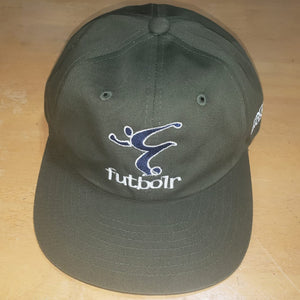 End Racism Futbolr Green Dad Hat