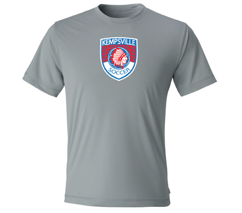 Varsity Girls - Kempsville Short Sleeve Performance - Gray