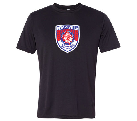 Kempsville Performance Tee Shirt - Black