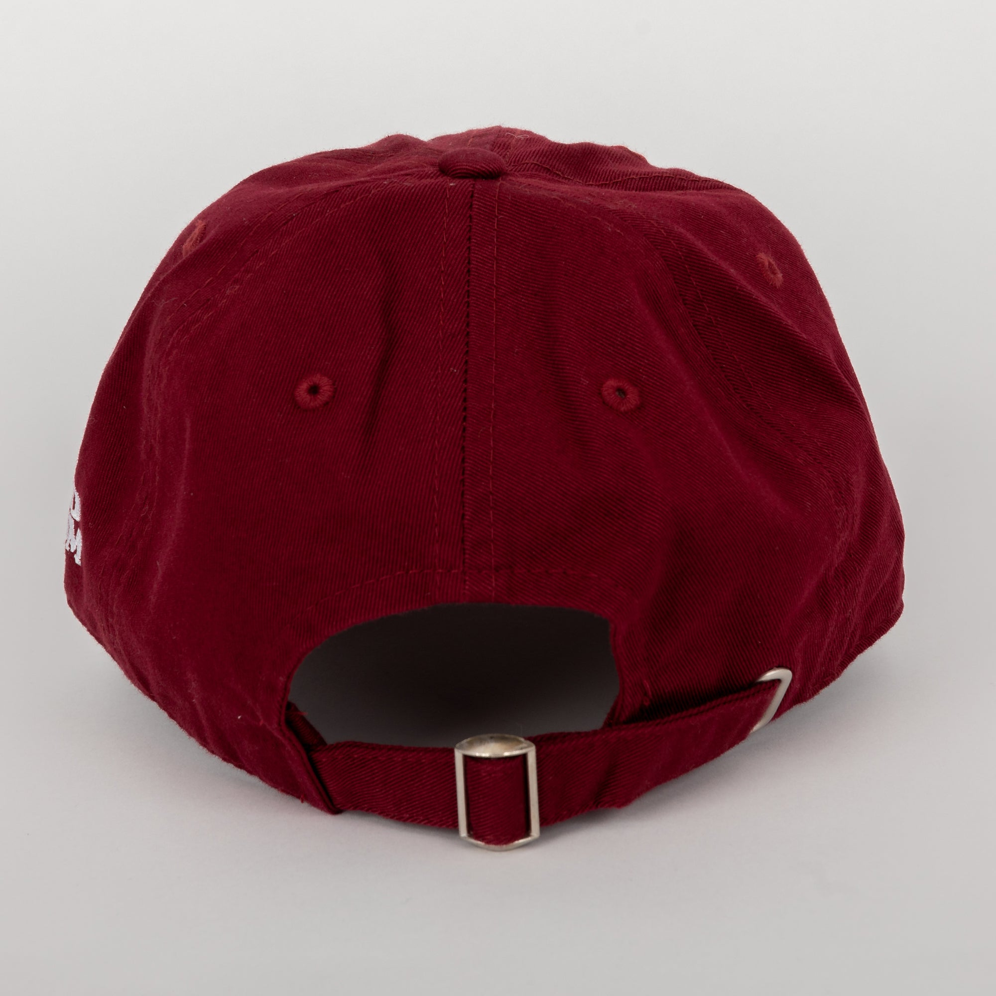 End Racism Futbolr Burgundy Dad Hat