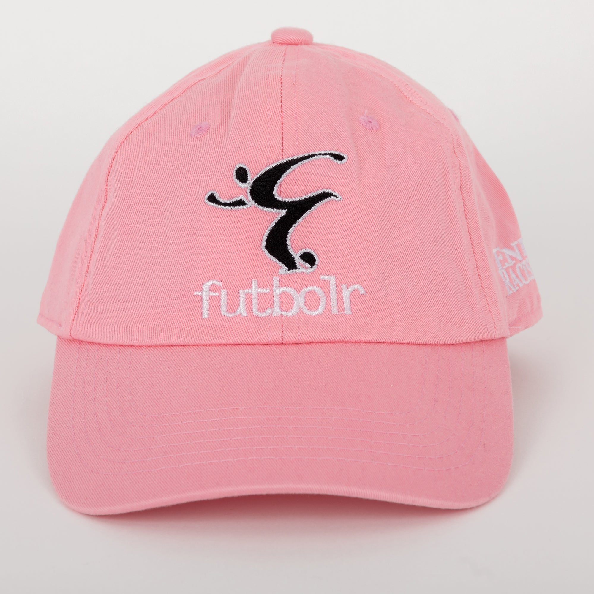 End Racism Futbolr Pink Dad Hat