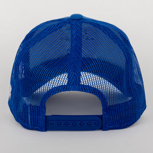 Futbolr Trucker Hat Royal