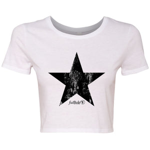 STAR FUTBOLR CROP TEES