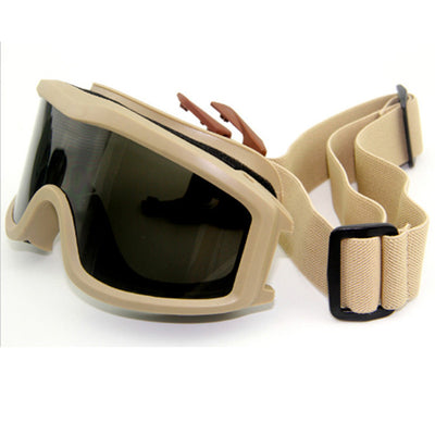 GOGGLES WITH 3 LENSE OPTIONS