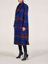 Cara Double Breasted Italian Wool Coat