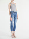 Rigid High Waist Crop Skinny Jeans