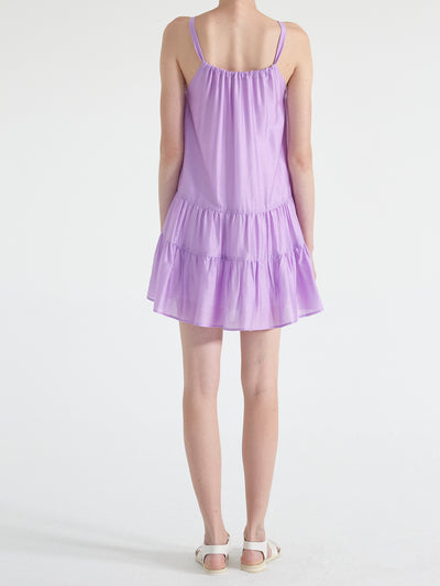 Venice Gathered Mini Dress
