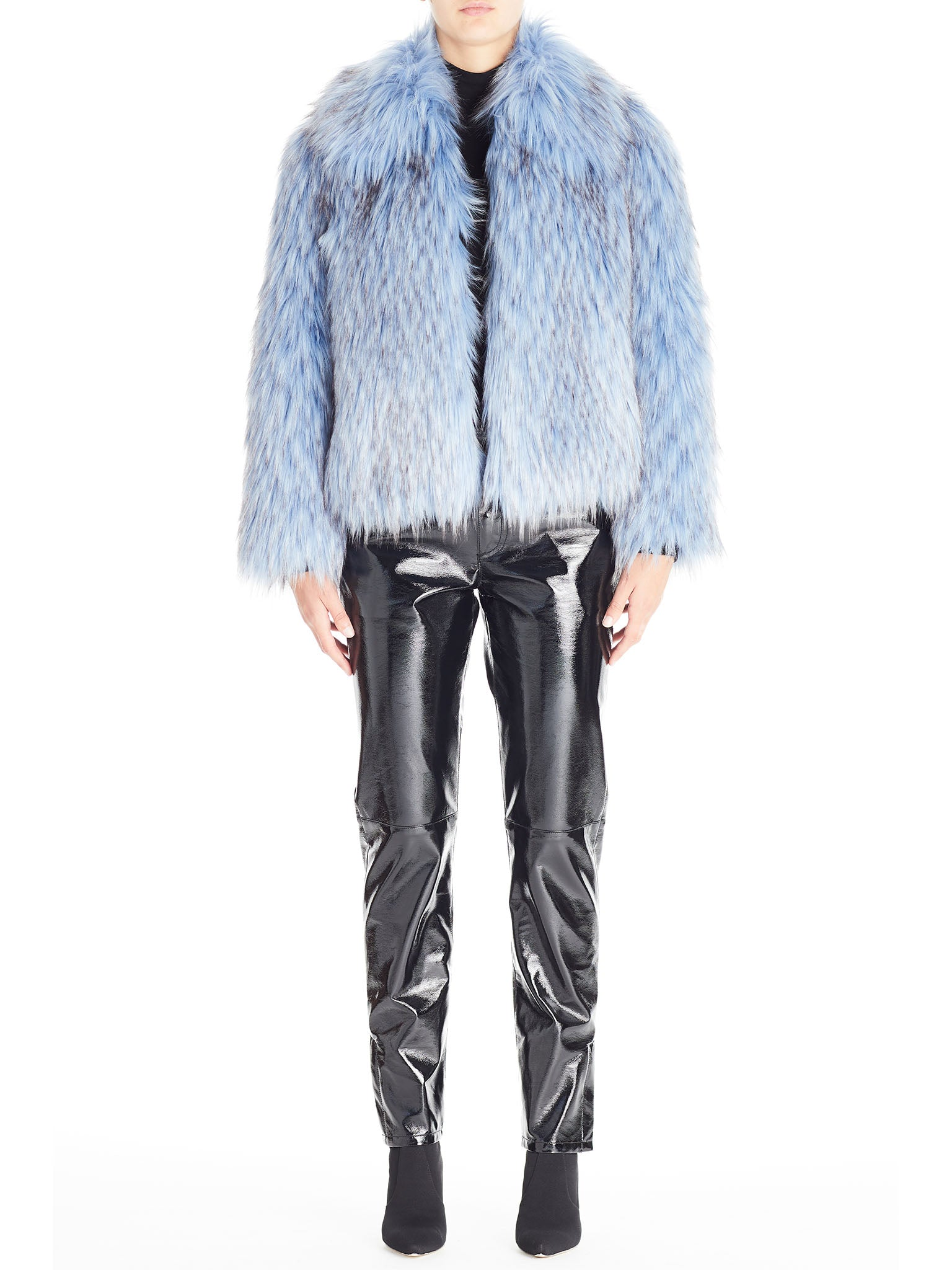 Italian Faux Fur Coat