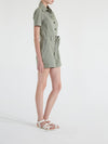 MONA SHORT SLEEVE SAFARI ROMPER