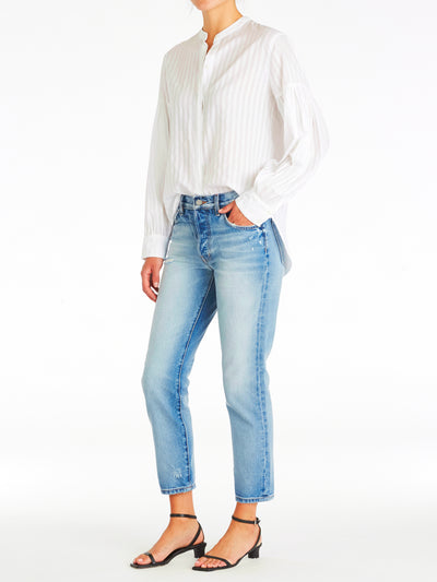Rigid High Waist Skinny Crop Jeans