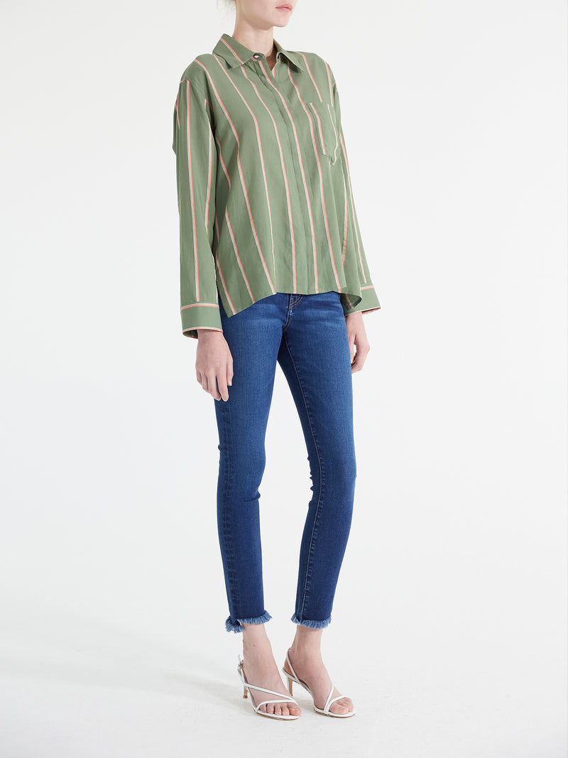 Helena Stripe Shirt