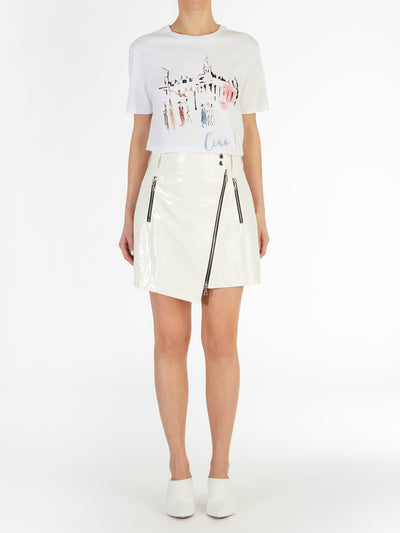 Ciao Boyfriend Tee in Italian Cotton Jersey