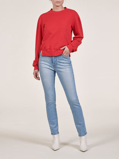 Sienna Slim Straight Coated Jeans