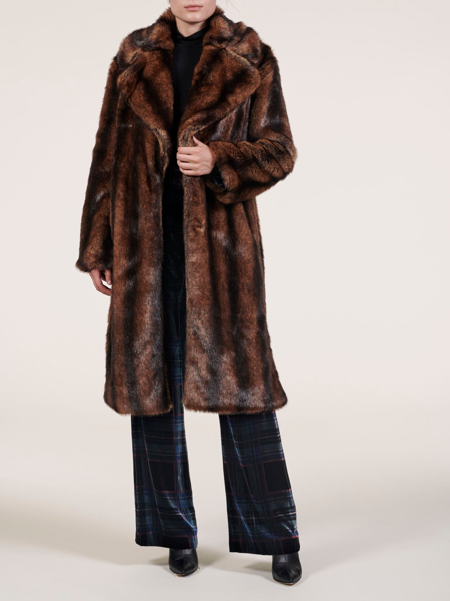 Margot Faux Mink Coat