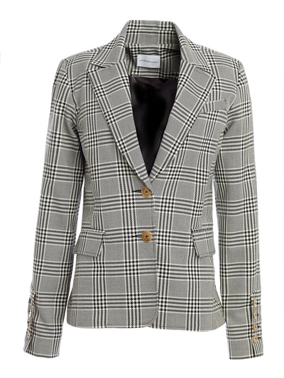Freja Plaid Single Blazer