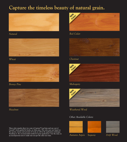 capture stain colors sascho