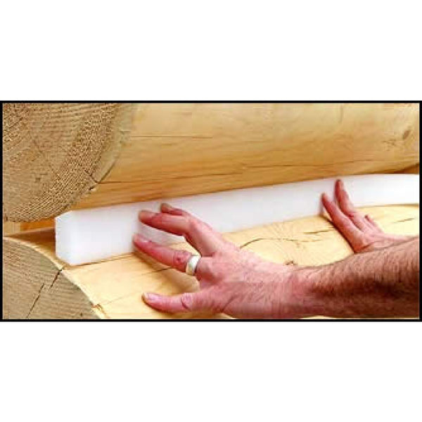 Grip-Strip™ Trapezoid Log Home Backer Rod