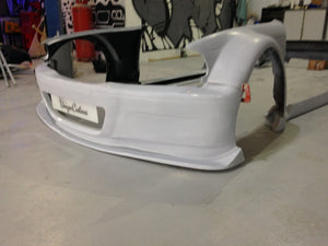 bmw 3 series e46 m3 gtr style wide bodykit gtr wide arch 100mm full kit