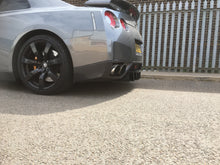 Load image into Gallery viewer, Nissan r35 gtr rear fin splitter spoiler skyline diffuser