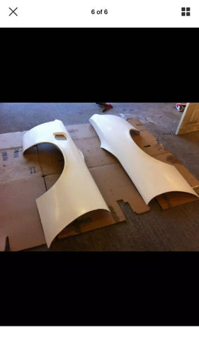 Nissan S14 overfenders arches 50mm wide 200sx drift track wheel