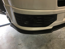 Load image into Gallery viewer, Vw t5 front sportline splitter lip spoiler black grp r line t28
