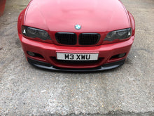Load image into Gallery viewer, BMW E46 M3  M-sport Front Chin Lip Splittler Spoiler