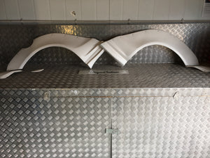 VW Scirocco Full Wide Arch Kit Conversion Flairs Arches Bodykit