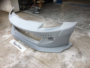 Rocket bunny style nissan 350z full wide arch kit bumper spoiler splitter arches flairs