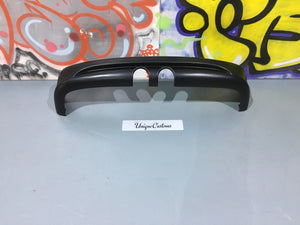 vw caddy r32 golf style rear bumper splitter spoiler
