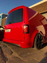 Load image into Gallery viewer, vw caddy r-line style rear bumper splitter spoiler smooth euro volkswagen
