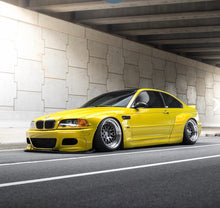 Load image into Gallery viewer, BMW E46 COUPE PANDEM STYLE WIDE BODY KIT drift track show over fenders arches
