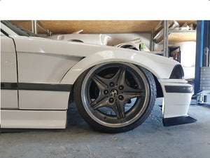 E36 coupe convertible vented widearch front wings 30mm replacment wings 3 series